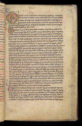Historiated Initial With Isidore, In Isidore's 'Etymologies'